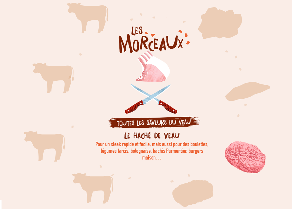 Pour un steak rapide et facile, mais aussi pour des boulettes, légumes farcis, bolognaise, hachis Parmentier, burgers maison…
